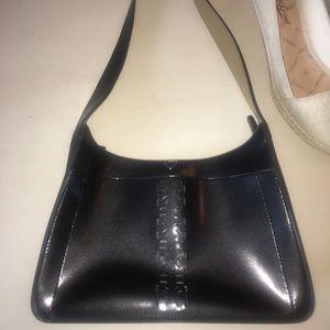 Mondani vintage black bag. Laser cutouts